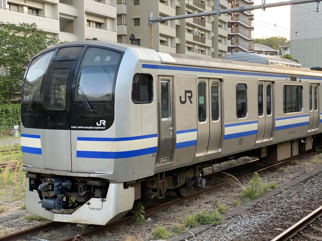 鉄道】2021/04/22 JR東日本横須賀・総武快速線E217系クラY-22編成 ...